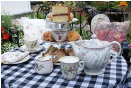 traditional teas at deblyns tea shop in new romney
